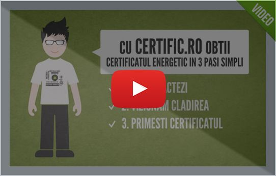 Prezentare Video Certific.ro Certificat Energetic Timisoara
